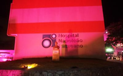 Hospital Napoleão Laureano divulga balanço da campanha Outubro Rosa