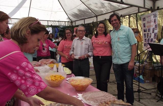 Solenidade pública de doação de condicionadores de ar, por parte do Instituto Alpargatas ao Hospital Laureano