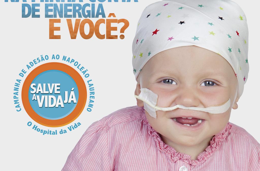 LANÇAMENTO DA CAMPANHA SALVE A VIDA JÁ