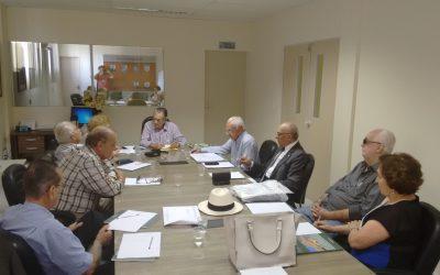 Reunião da Fundação Napoleão Laureano