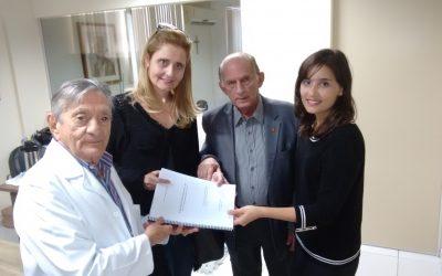 Visita das arquitetas Ao Hospital Napoleão Laureano 21/06/2016