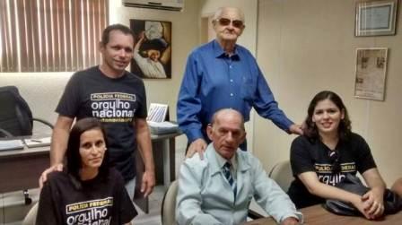 Hospital Napoleão Laureano recebe doações da FESP e da Associação dos Delegados da Polícia Federal