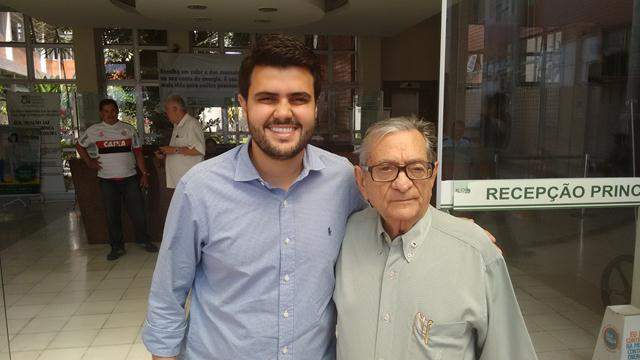 Visita do Deputado Federal Wilson Santiago Filho 15.07.2016