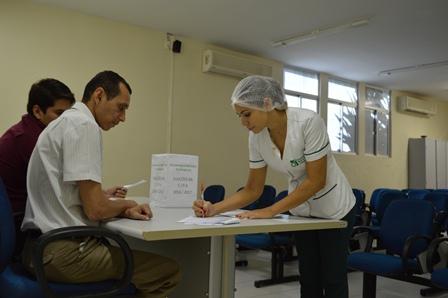 O Laureano realiza sua eleição para a CIPA