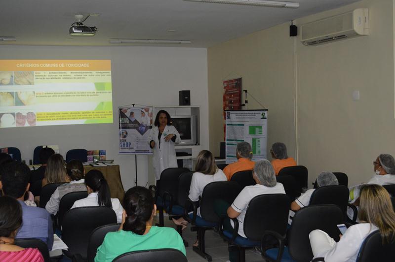 Palestra sobre Prevenção e Segurança de Pacientes