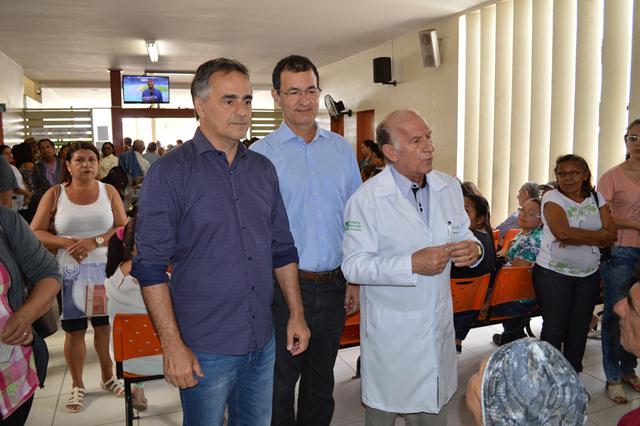 Visita  do Prefeito Luciano Cartaxo