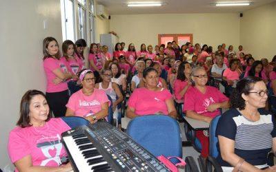 Abertura do Outubro Rosa no Hospital Napoleão Laureano