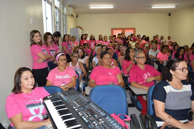 Abertura do Outubro Rosa no Hospital Napoleão Laureano