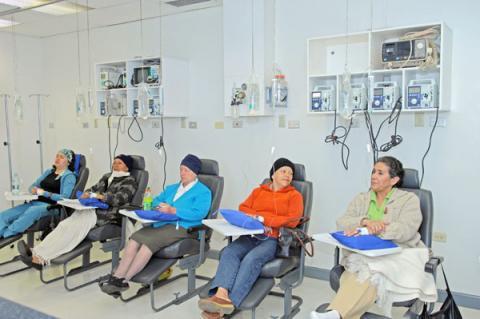 Construção da nova unidade de quimioterapia do Hospital Napoleão Laureano