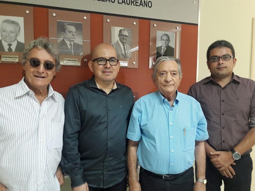 Dirigentes da Fundação Assistencial da Paraíba (FAP), visitam o Hospital Napoleão Laureano