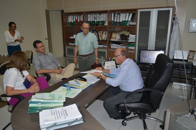 Visita do Secretário de Saúde Adalberto Fulgêncio