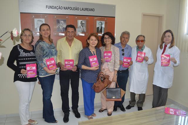 Rotary de João Pessoa Sul solidário com o Hospital Napoleão Laureano.