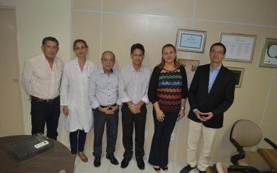 Visita do Secretário de Saúde do Município de João Pessoa