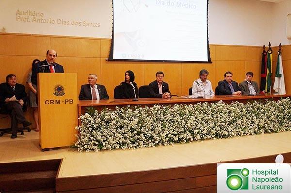 Dia do Médico é comemorado em João Pessoa com evento sobre Medicina e Direito