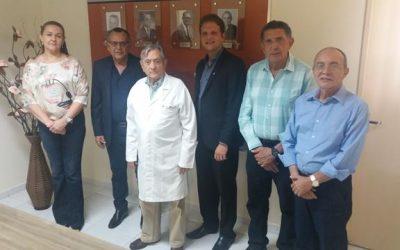 Fundação Laureano assinou convênio com a CAGEPA