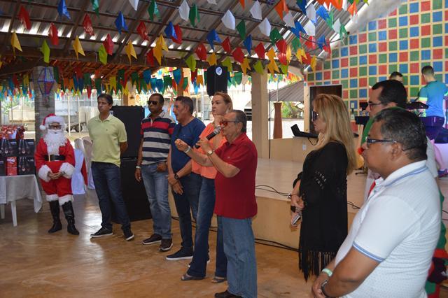 Festa de Confraternização dos funcionários do Hospital Napoleão Laureano