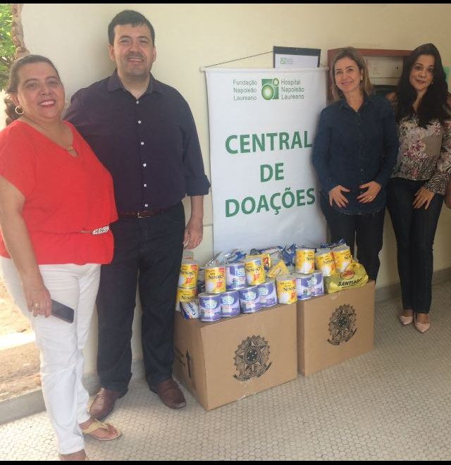 TRE – PB faz doação ao Hospital Napoleão Laureano