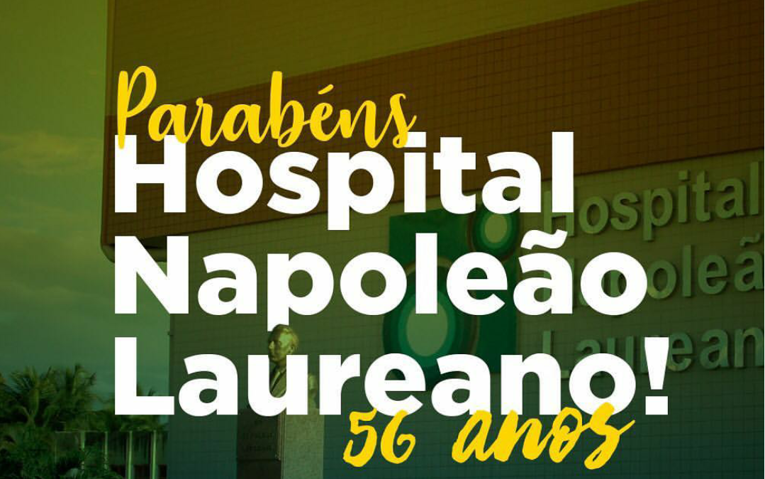 Hospital Napoleão Laureano completou 56 anos de serviços prestados aos paraibanos