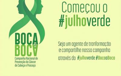 Napoleão Laureano inicia campanha de combate ao câncer de cabeça e pescoço (Julho Verde)