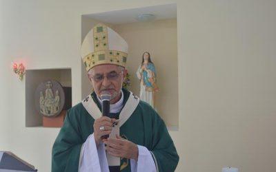 Arcebispo Dom Manoel Delson celebrou Missa no Laureano