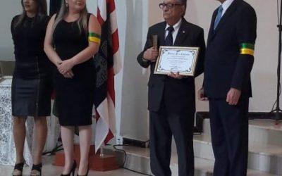 Diretor Presidente da Fundação Laureano é homenageado pela Igreja Evangélica Batista