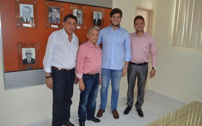 Presidente da Frente Parlamentar de Combate ao Câncer Visita o Hospital Napoleão Laureano
