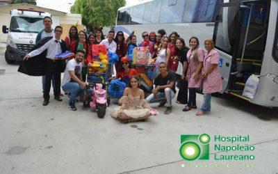 Alunos do Senac fazem doação ao Hospital Napoleão Laureano