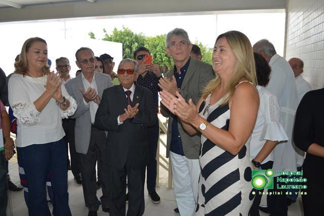 Ricardo entrega ampliação da Ala de Radiologia do Hospital Napoleão Laureano