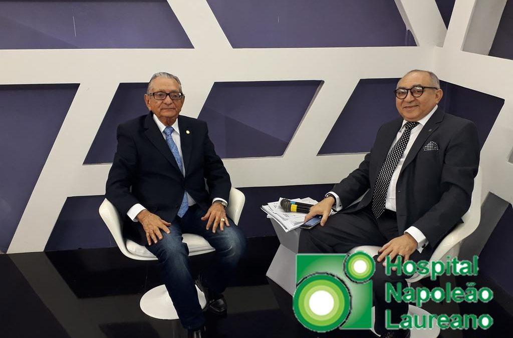 """Video: Carneiro Arnaud rebate denúncias e esclarece """"guerra judicial"""" no Hospital Laureano"""