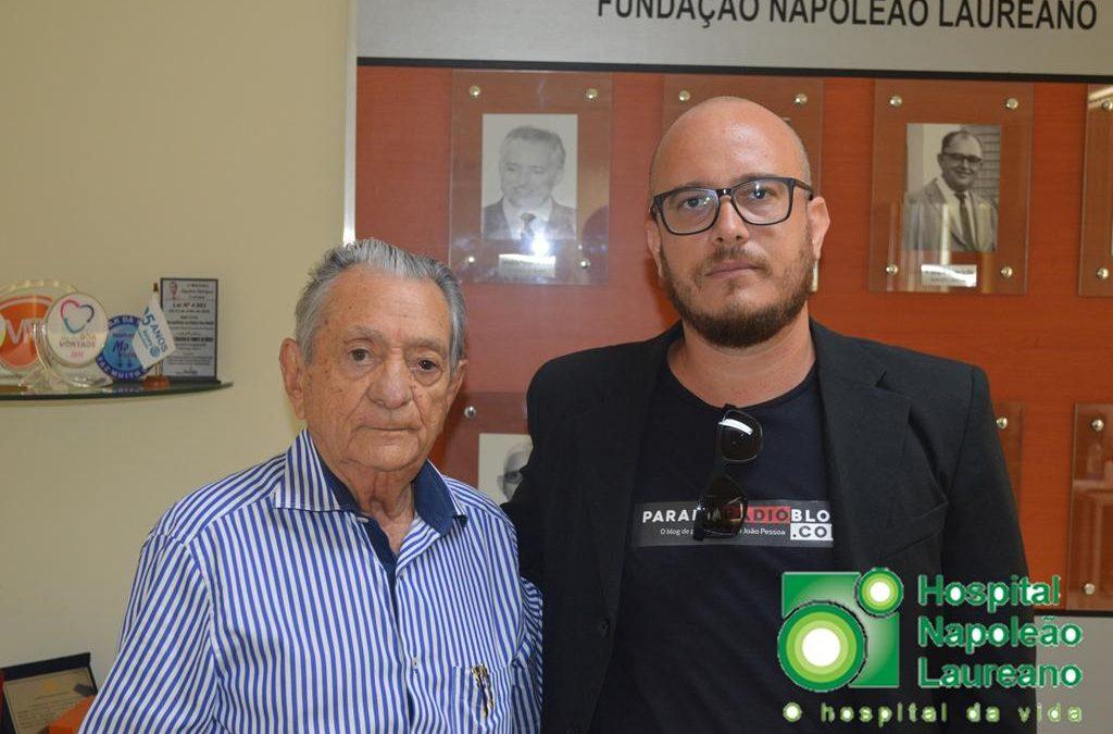 """Áudio: Carneiro Arnaud """"abre o jogo"""" sobre dados obscuros do Laureano e não poupa críticas a ex-diretores"""