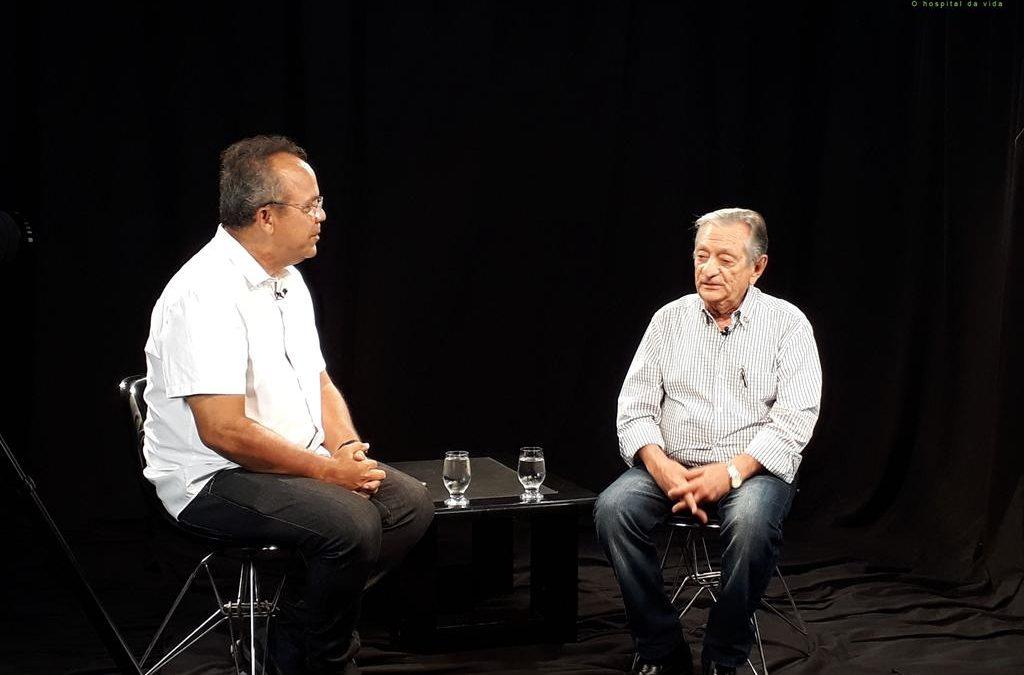 Vídeo: Entrevista com o Diretor-Presidente da FundaçãoLaureano, médico Carneiro Arnaud