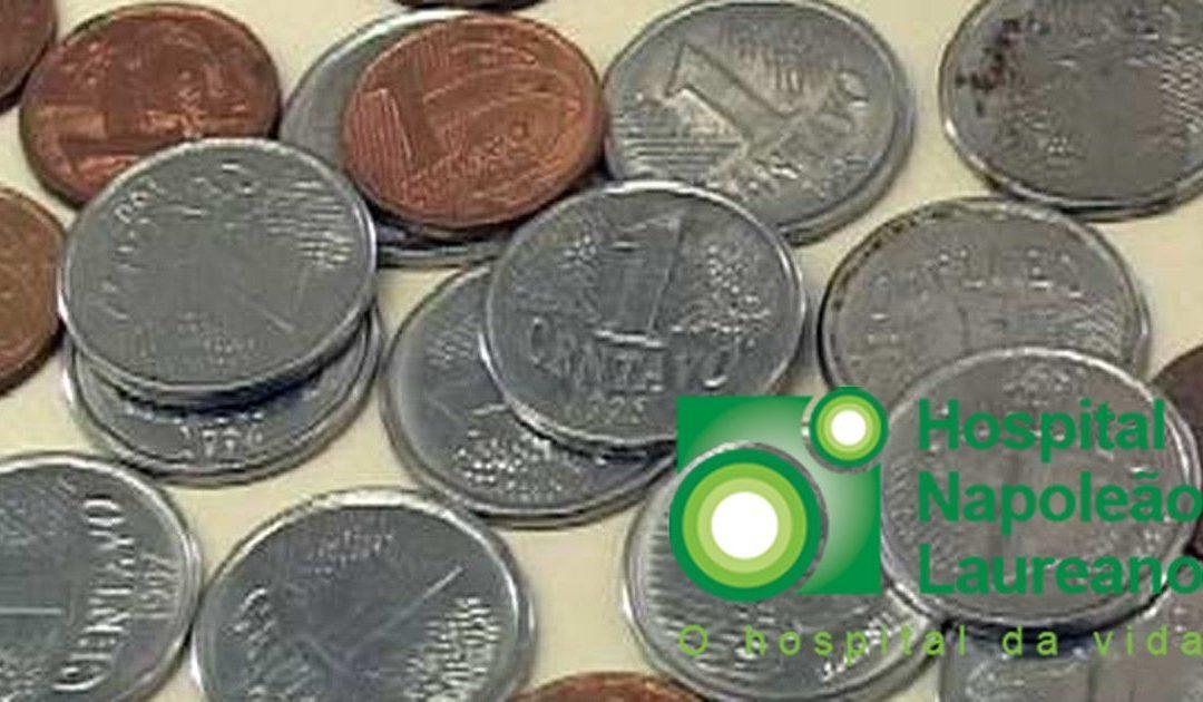 Centavos para o Hospital Laureano