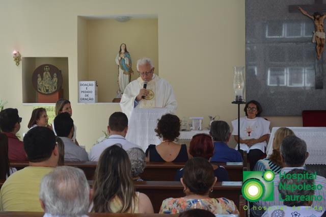 Missa em comemoração aos 57 anos do Hospital Napoleão Laureano