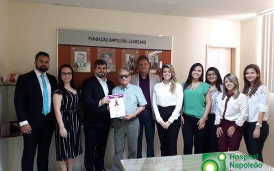 Comissão de saúde da OAB faz visita e garante apoio ao Hospital Napoleão Laureano