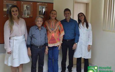 Deputada Camilla Toscano visita Napoleão Laureno e promete reinstalar Frente Parlamentar do Câncer