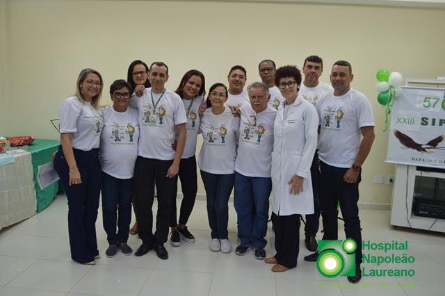 O Hospital Napoleão Laureano realizou a XXIll SIPAT