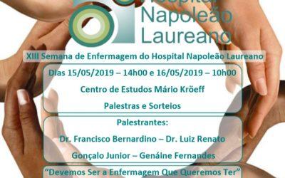 XIII Semana de Enfermagem do Hospital Napoleão Laureano