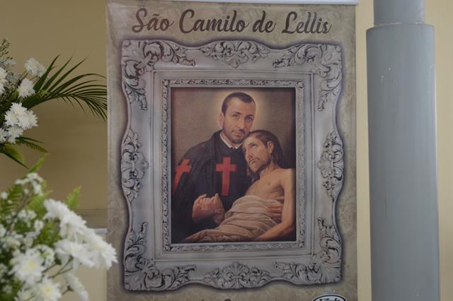 Espaço Ecumênico do Hospital Laureano celebrou uma missa em comemoração ao dia de São Camilo de Lellis