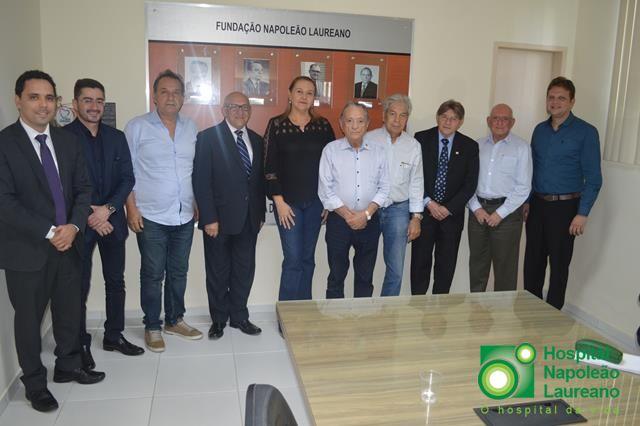 Cartórios vão comprar medicamentos para pacientes do Hospital Napoleão Laureano