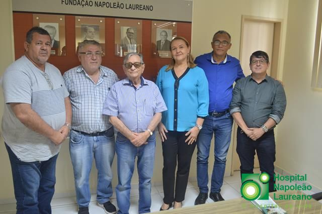 SindiFisco apoia Laureano, assina convênio e inicia campanha de doação entre filiados