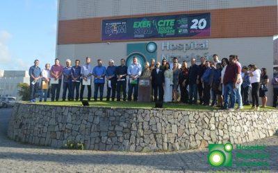 SOLIDARIEDADE 63 prefeitos assinam convênio e vão destinar recursos para Hospital Napoleão Laureano