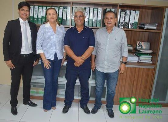 Prefeitura de Teixeira também garante apoio ao Laureano