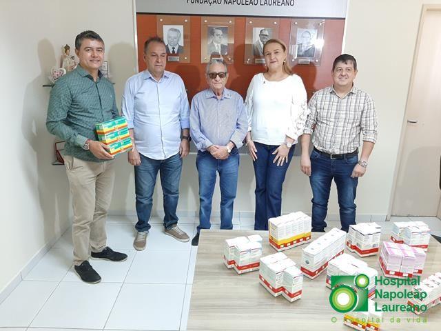 Rede de supermercados Bem Mais doa 57 mil reais em medicamentos ao Laureano