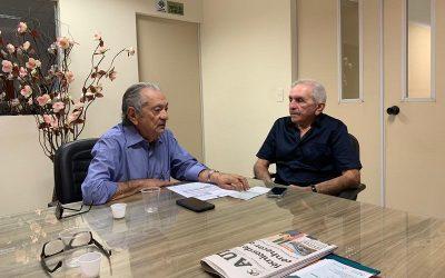 Prefeito Leomar Maia adere à campanha de ajuda ao Hospital Napoleão Laureano