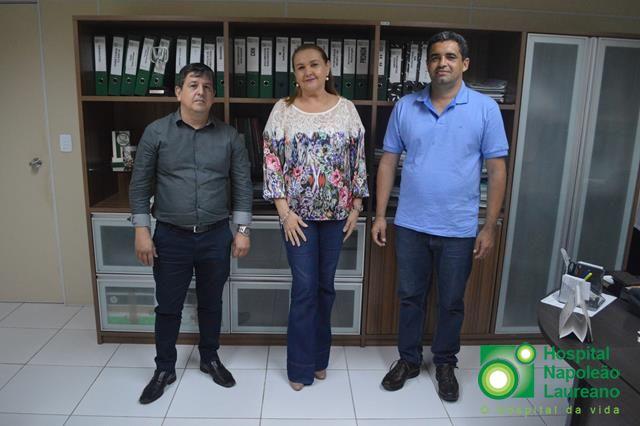Prefeitura de Cacimbas celebra convênio com Hospital Napoleão Laureano