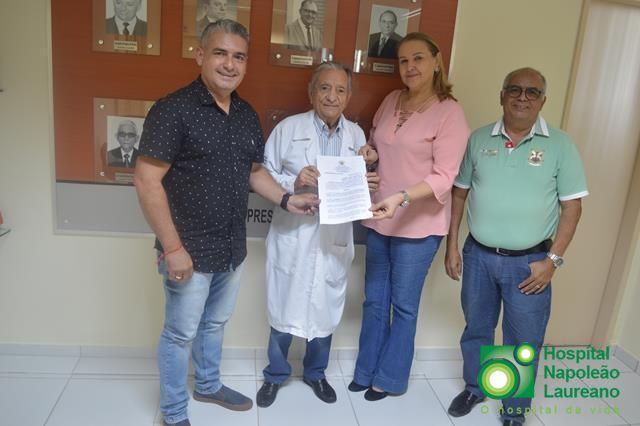 Tacima também apoia o Hospital Laureano