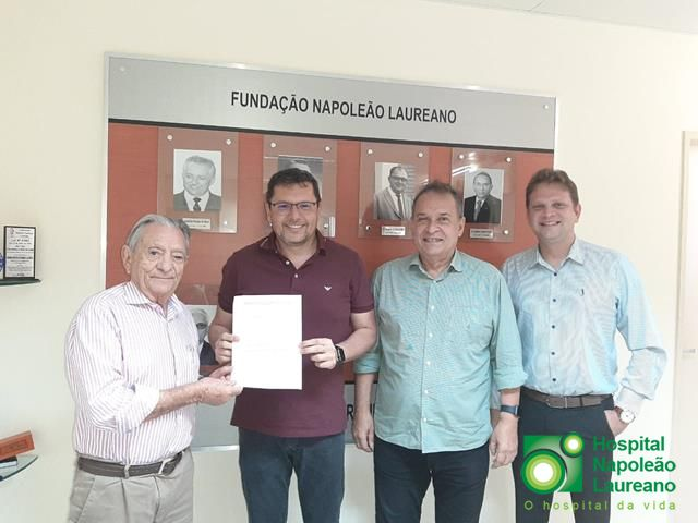 Prefeitura de Cuitegi celebra convênio com Hospital Napoleão Laureano