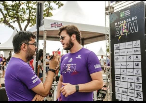 Idealizador da Corrida do Bem, Bruno Cunha Lima diz que evento se supera a cada ano.