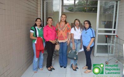 Estudantes de Areia/PB unem forças para arrecadar leite para crianças do Hospital Napoleão Laureano