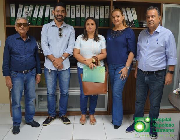 Salgado de São Félix é mais um município a firmar convênio com o Laureano